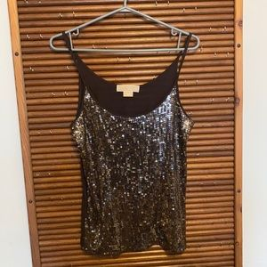 Michael Kors sequence camisole top size M